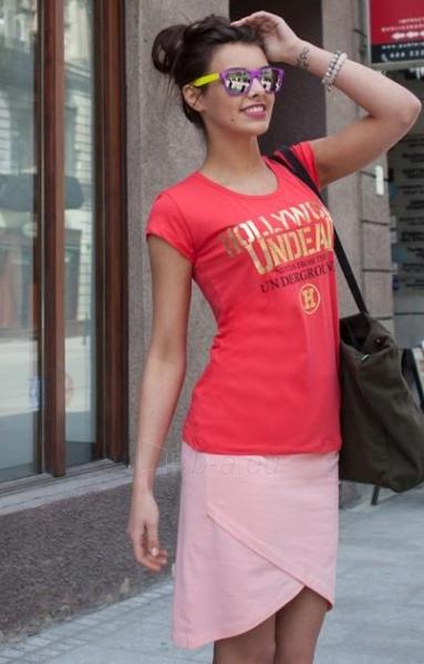 Marškinėliai Rachna (koralo spalvos) Paveikslėlis 1 iš 5 310820032969