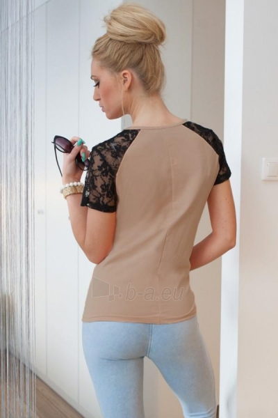 Marškinėliai Radha (kapučino spalvos) Paveikslėlis 1 iš 3 310820032966