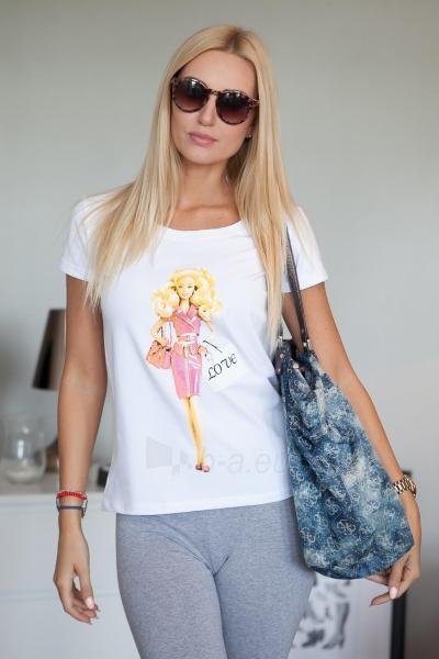 Marškinėliai Rana (baltos spalvos) Paveikslėlis 1 iš 2 310820046126
