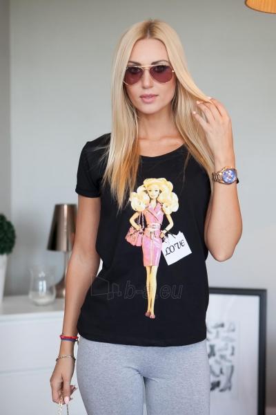 Marškinėliai Rana (juodos spalvos) Paveikslėlis 1 iš 2 310820046132