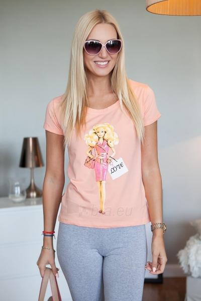 Marškinėliai Rana (lašišinės spalvos) Paveikslėlis 1 iš 2 310820046127