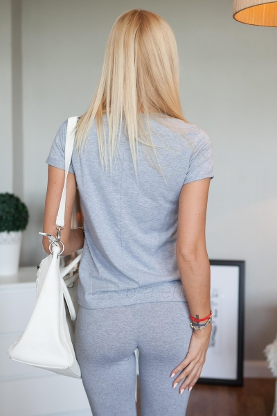 Marškinėliai Rana (šviesiai pilkos spalvos) Paveikslėlis 1 iš 2 310820046129