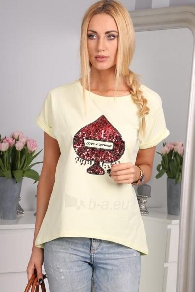 Marškinėliai Samelita (citrinos spalvos) Paveikslėlis 1 iš 3 310820033834