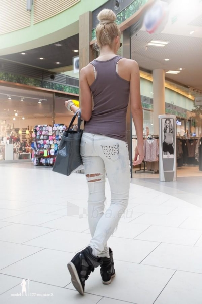 Marškinėliai Tedra (tamiai pilkos spalvos) Paveikslėlis 1 iš 5 310820035692