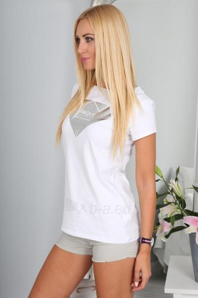 Marškinėliai Thea (baltos spalvos) Paveikslėlis 1 iš 3 310820035986