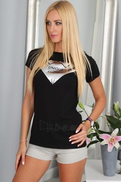 Marškinėliai Thea (juodos spalvos) Paveikslėlis 1 iš 3 310820035992