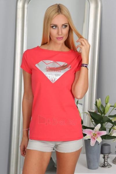 Marškinėliai Thea (koralo spalvos) Paveikslėlis 1 iš 3 310820035990