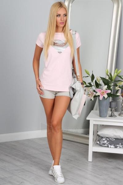 Marškinėliai Thea (šviesiai rožinės spalvos) Paveikslėlis 1 iš 5 310820035987