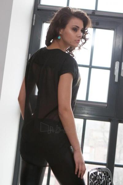 Marškinėliai Vanessa (juodos spalvos) Paveikslėlis 1 iš 3 310820033190