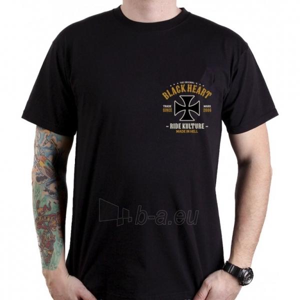 Marškinėlis BLACK HEART Whiskery Paveikslėlis 2 iš 2 310820218068