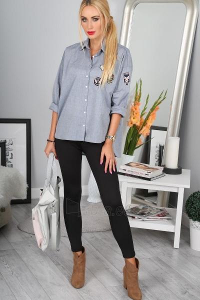 Marškiniai Charlotte (grafito spalvos) Paveikslėlis 1 iš 5 310820046849