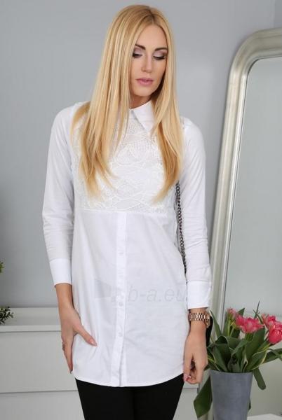 Marškiniai Eceno (baltos spalvos) Paveikslėlis 1 iš 5 310820035318
