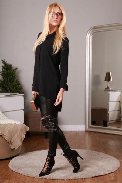 Marškiniai Ervos (juodos spalvos) Paveikslėlis 1 iš 4 310820032775