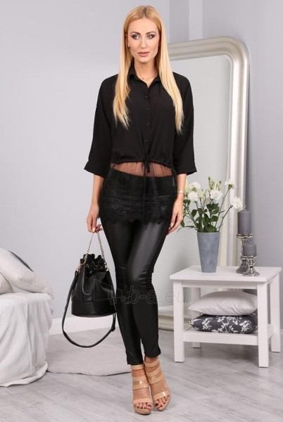 Marškiniai Ifodo (juodos spalvos) Paveikslėlis 1 iš 5 310820032499