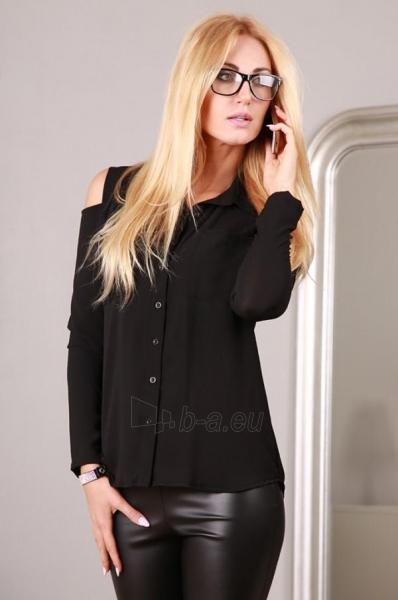 Marškiniai Ipola (juodos spalvos) Paveikslėlis 1 iš 4 310820032505