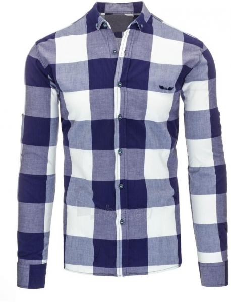 Marškiniai Jan (baltos spalvos) Paveikslėlis 1 iš 3 310820046795