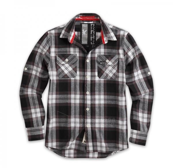Marškiniai Surplus LUMBERJACK SHIRT black 06-5006-03 Paveikslėlis 1 iš 1 251510500056