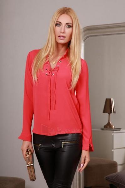 Marškiniai Uvita (koralo spalvos) Paveikslėlis 1 iš 4 310820032519