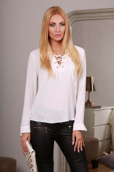 Marškiniai Uvita (kreminės spalvos) Paveikslėlis 1 iš 4 310820032518