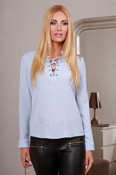 Marškiniai Uvita (mėlynos spalvos) Paveikslėlis 1 iš 4 310820032520