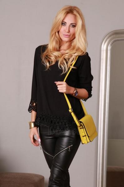 Marškiniai Yrona (juodos spalvos) Paveikslėlis 1 iš 4 310820032529