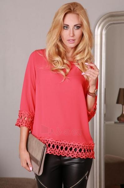 Marškiniai Yrona (raudonos spalvos) Paveikslėlis 1 iš 4 310820032526