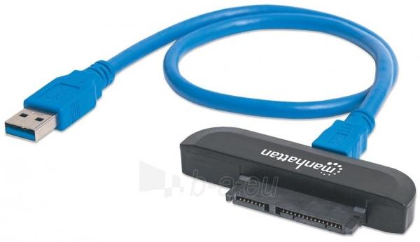 Maršrutizatorius Adapteris Manhattan SuperSpeed USB 3.0 to SATA 2.5 Paveikslėlis 1 iš 3 310820011319