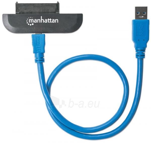 Maršrutizatorius Adapteris Manhattan SuperSpeed USB 3.0 to SATA 2.5 Paveikslėlis 2 iš 3 310820011319
