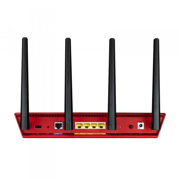 Maršrutizatorius Asus RT-AC87U Wireless AC2400 Dual-band Gigabit Router RED Paveikslėlis 2 iš 4 310820011334