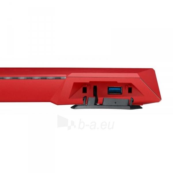 Maršrutizatorius Asus RT-AC87U Wireless AC2400 Dual-band Gigabit Router RED Paveikslėlis 3 iš 4 310820011334