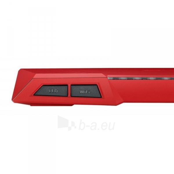 Maršrutizatorius Asus RT-AC87U Wireless AC2400 Dual-band Gigabit Router RED Paveikslėlis 4 iš 4 310820011334
