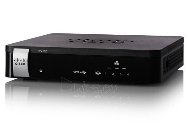 Maršrutizatorius Cisco RV130 VPN Router Paveikslėlis 1 iš 1 310820011599