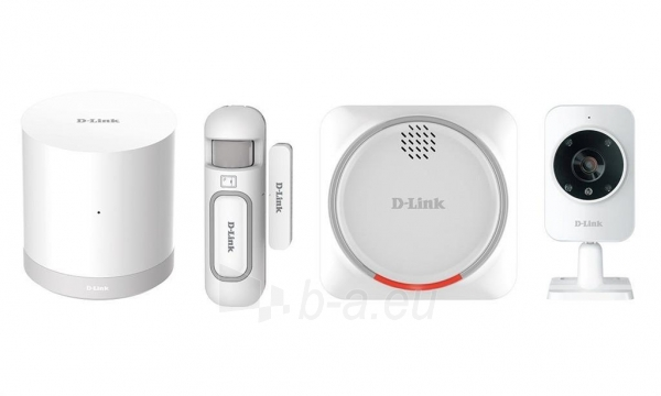 Maršrutizatorius D-Link mydlink Home Security Starter Kit Paveikslėlis 1 iš 1 310820011757