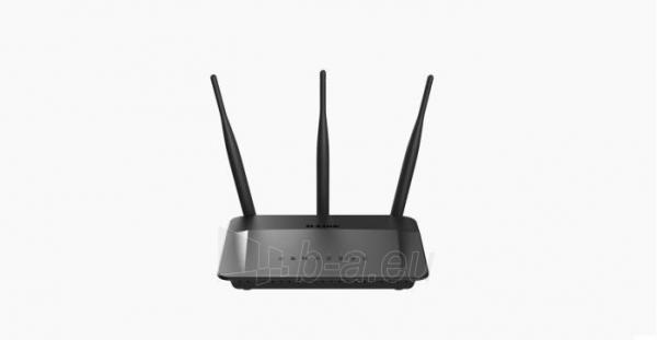 Maršrutizatorius D-Link Wireless AC750 Dual Band 10/100 Router with external antenna Paveikslėlis 1 iš 3 310820011422