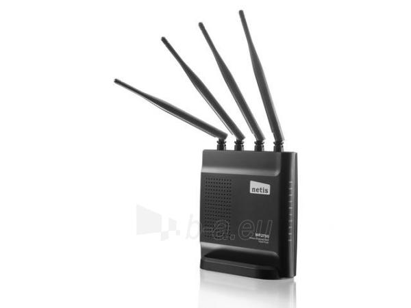 Maršrutizatorius Netis DSL WIFI AC/1200 DUAL BAND 1GB LANx4, 4x antena 5dBi Paveikslėlis 2 iš 3 250257200582