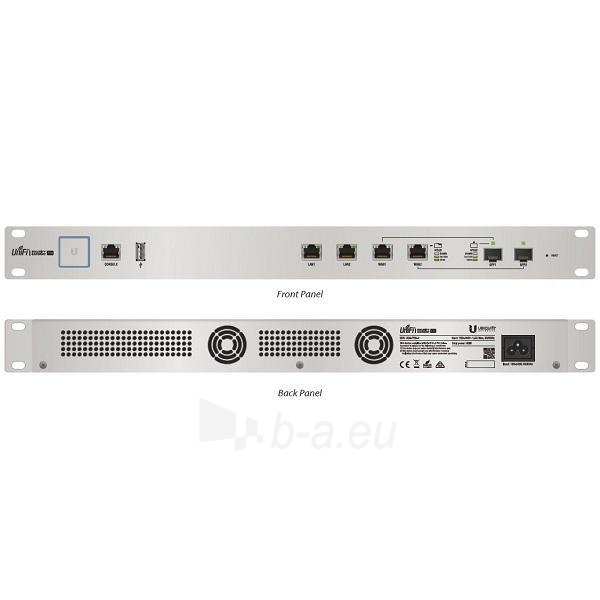 Maršrutizatorius Ubiquiti UniFi USG PRO Enterprise Security Gateway Broadband Router Paveikslėlis 1 iš 2 310820011837