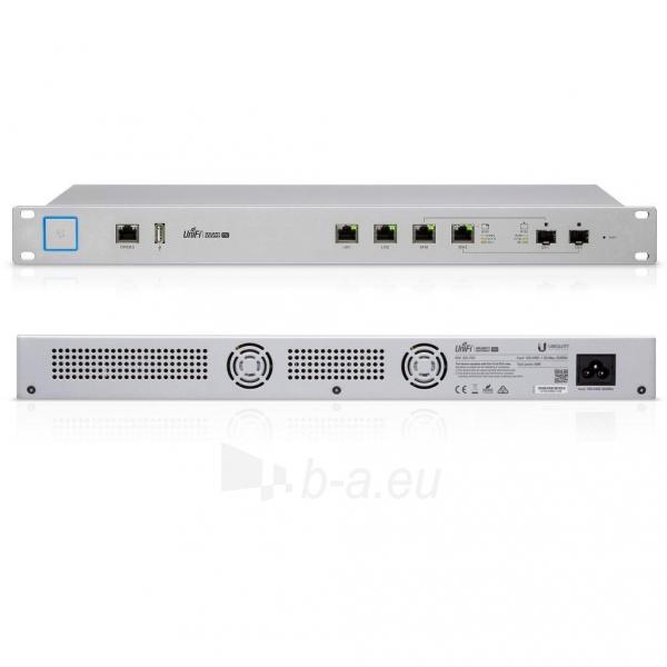 Maršrutizatorius Ubiquiti UniFi USG PRO Enterprise Security Gateway Broadband Router Paveikslėlis 2 iš 2 310820011837