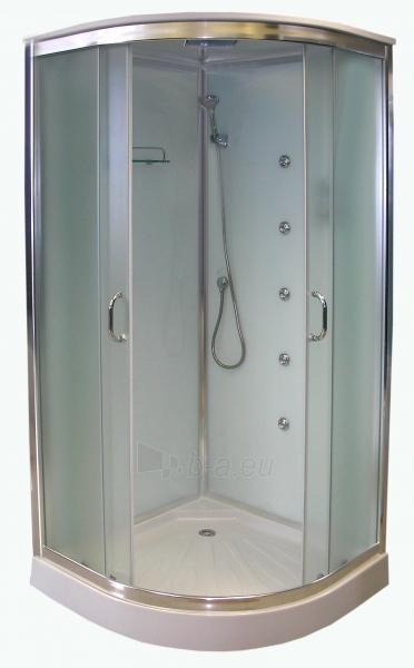 Massage shower K890 80x80 fabric Paveikslėlis 1 iš 8 270730000962
