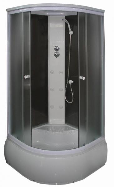 Masažinė dušo kabina ZQ-888 100x100 fabric Paveikslėlis 1 iš 4 270730000621