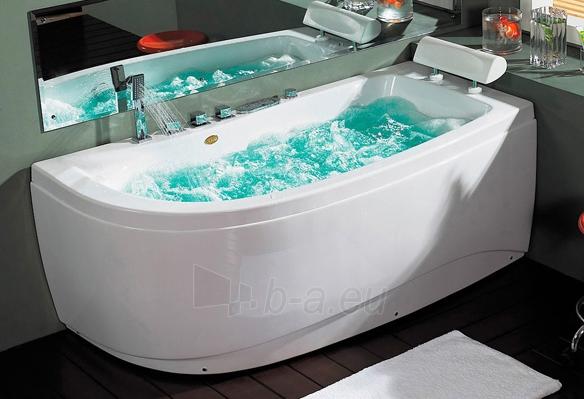Masažinė vonia B1680 dešininė su oro ir hidromasažu 150cm Paveikslėlis 1 iš 4 270716000629
