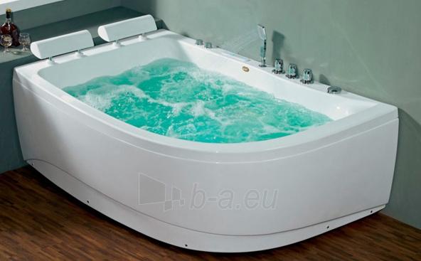 Masažinė vonia B1913-1 kairinė su hidromasažu Paveikslėlis 1 iš 6 270716000649