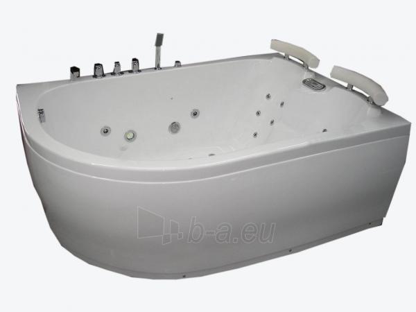 Masažinė vonia B201-1 dešininė su oro ir hidromasažu Paveikslėlis 1 iš 3 270716000652