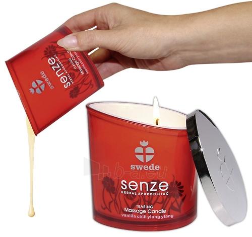 Masažinė žvakė Massage Candle Teasing Paveikslėlis 1 iš 1 310820021900