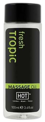 Masažinis aliejus Massage Oil fresh tropic 100ml Paveikslėlis 1 iš 1 310820021895