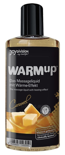 Masažinis aliejus WARMup Caramel karamelė 150 ml Paveikslėlis 1 iš 1 310820022025