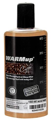Masažinis aliejus WARMup Coffee kava 150ml Paveikslėlis 1 iš 1 310820022028