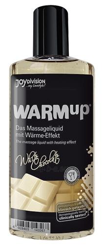 Masažinis aliejus WARMup White Chocolate 150ml Paveikslėlis 1 iš 1 310820022024