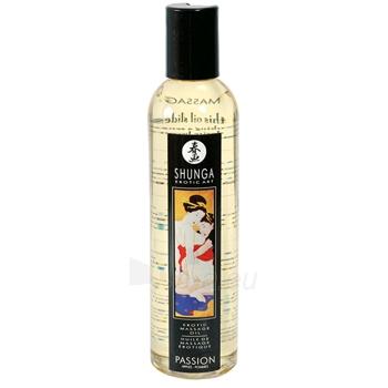 Masažo aliejus Shunga - Massage Oil migdolų Paveikslėlis 1 iš 1 310820026685