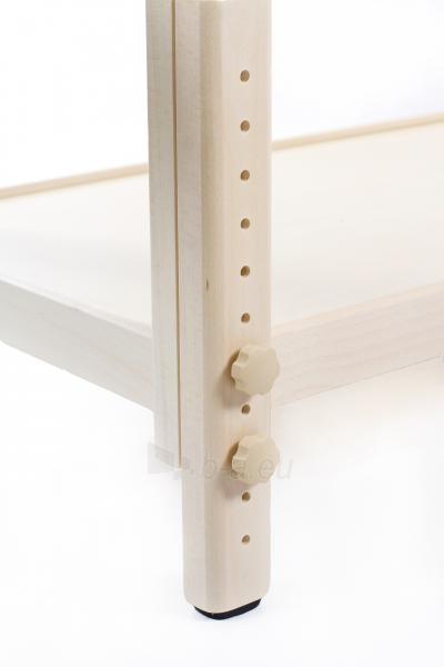 Masažo stalas Classic-Flat Beige Paveikslėlis 7 iš 7 310820218611
