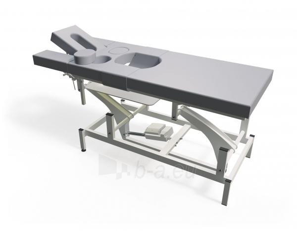 Masažo stalas nėščiosioms TN-MTPE-4, keturių dalių, elektrinis Paveikslėlis 1 iš 3 310820041498